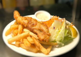 dinnerdata dishdup image of fish and chip cuisine by dinnerdata